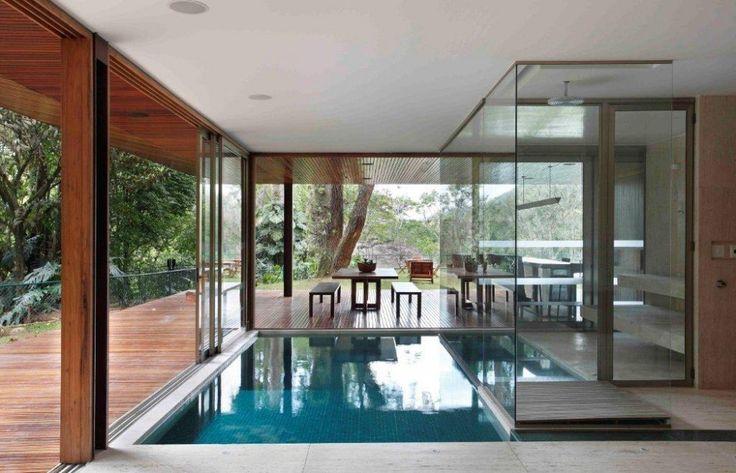 House in Itaipava / Cadas Arquitetura: Favorite Places, Dream, Glass, House, Architecture, Pools, Design