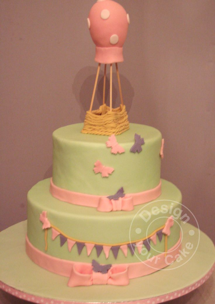 Hot air ballon cake