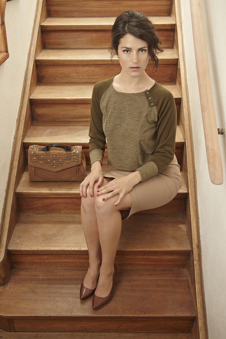 Chaleco Raglan / Raglan Sweater