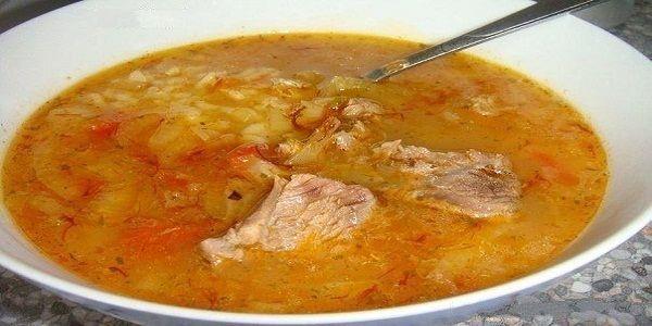Густой грузинский суп Харчо