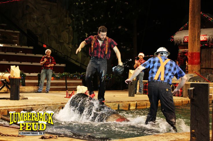 There are so many dinner shows to choose from in Pigeon Forge. Let me share my Lumberjack Feud Dinner Show Review with you. You won't want to miss it!