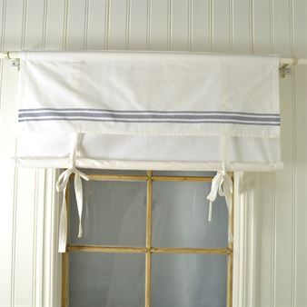 Ulla roman blind blue - 100 x 90 cm - Boel & Jan: Curtains Blinds, 90 Cm, Sweet Roman, Blue Stripes, Blind Blue, Ulla Roman, Roman Blinds