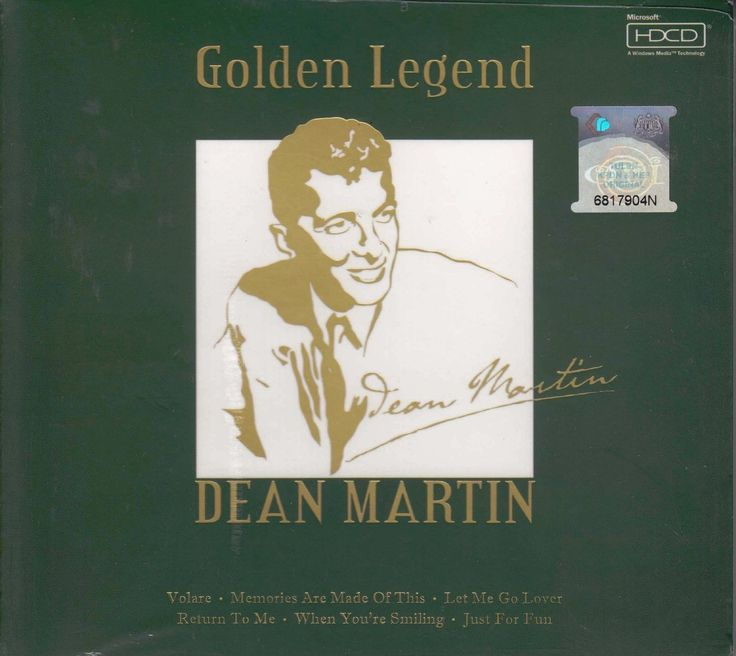 DEAN MARTIN Golden Legend Greatest Hits CD NEW HDCD Mastering Lyrics Booklet / Free Shipping