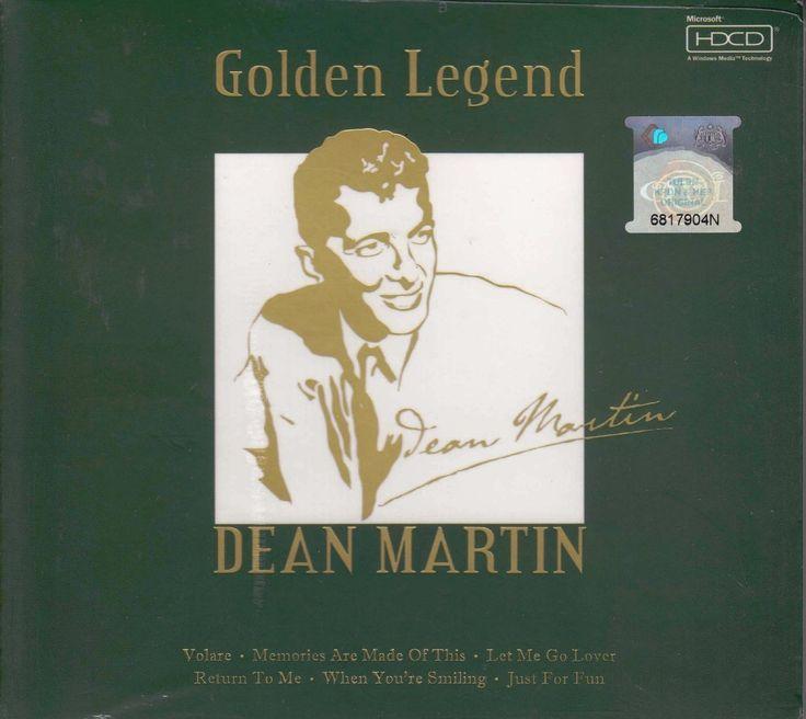 DEAN MARTIN Golden Legend Greatest Hits CD NEW HDCD Mastering Lyrics Booklet / Free Shipping