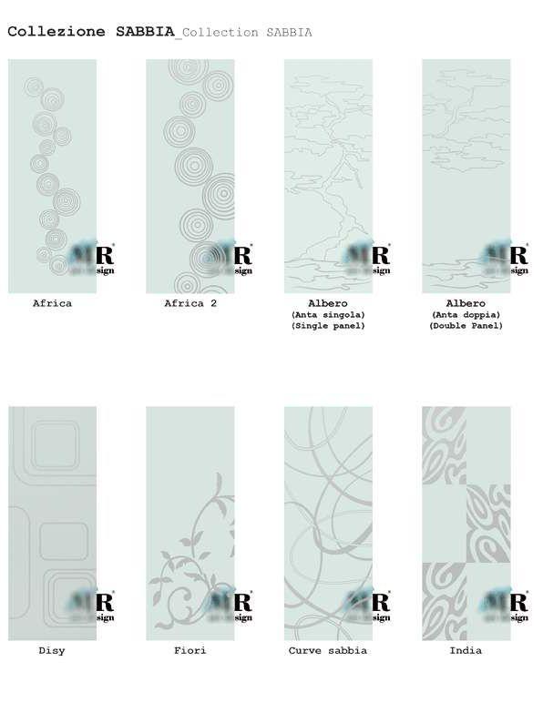 Collezione SABBIA / SABBIA Collection di #MRartdesign