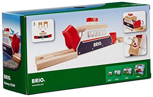 BRIO® Bahn 33569 - BRIO Light & Sound Fähre