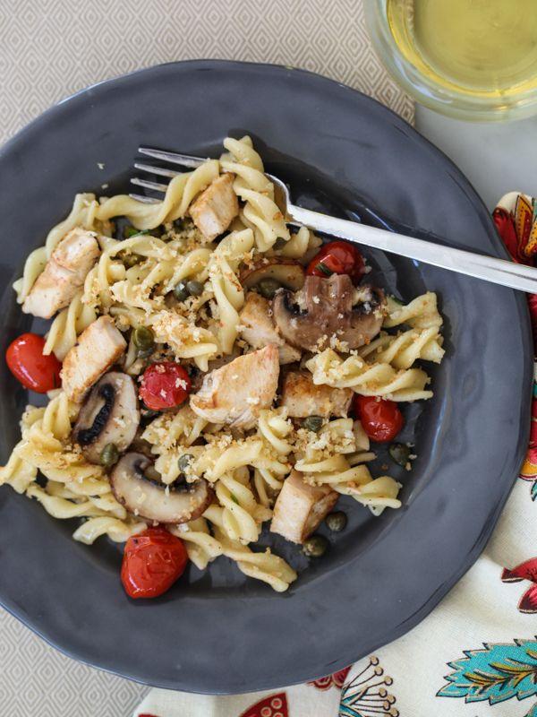 Chicken Piccata Pasta is a flavor burster