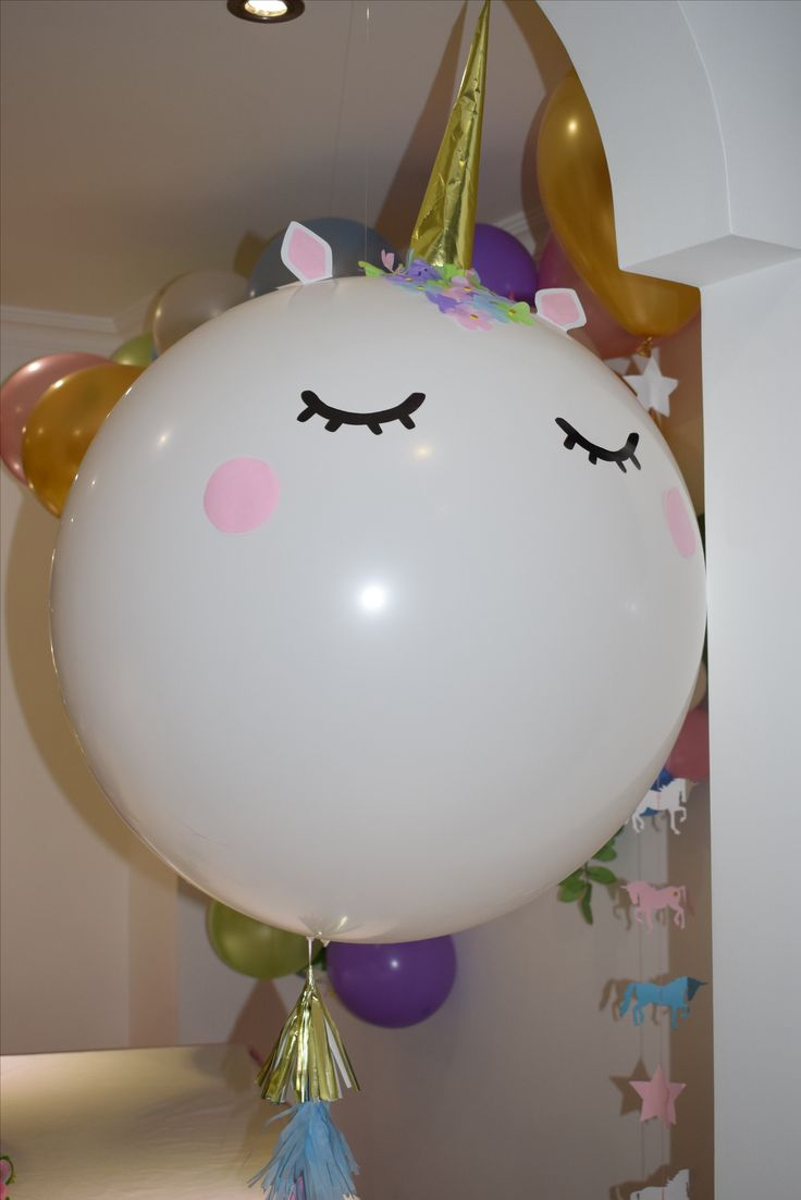 Unicorn Big balloon #unicornparty