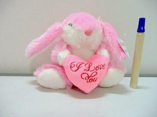 Boneka kelinci binatang lucu