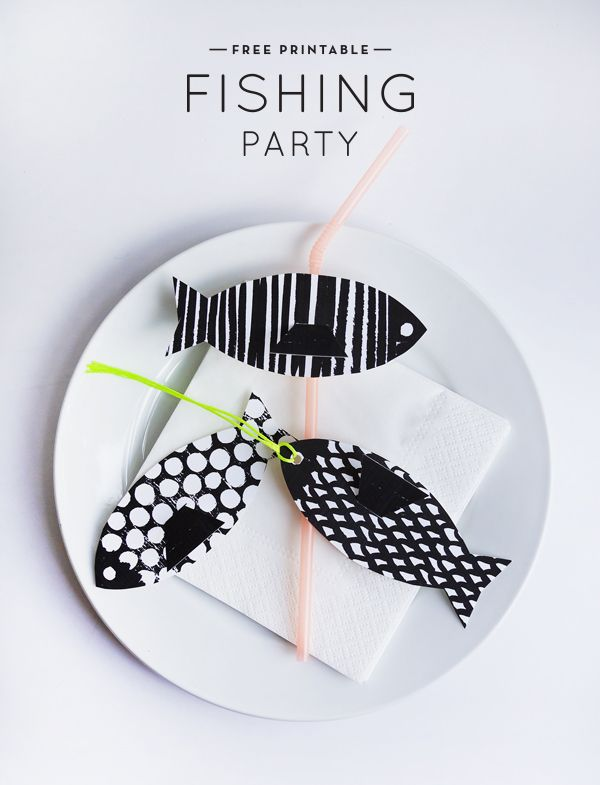 Printable Fishing Party