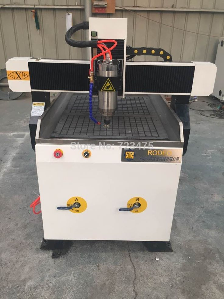 China factory supply 4 axis cnc router 6090 with 1.5kw spindle/cnc router for wood working small cnc milling machine #Affiliate