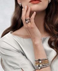 Elegantie ten top. #Fope is te koop bij Rob Lanckohr, Atelier voor Juwelen. www.lanckohr.nl