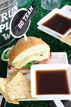 Score a touchdown wi Score a touchdown with this easy roast beef...  Score a touchdown wi Score a touchdown with this easy roast beef sandwich recipe. Perfect football food! More tailgate recipes at The Celebration Shoppe. Recipe : http://ift.tt/1hGiZgA And @ItsNutella  http://ift.tt/2v8iUYW