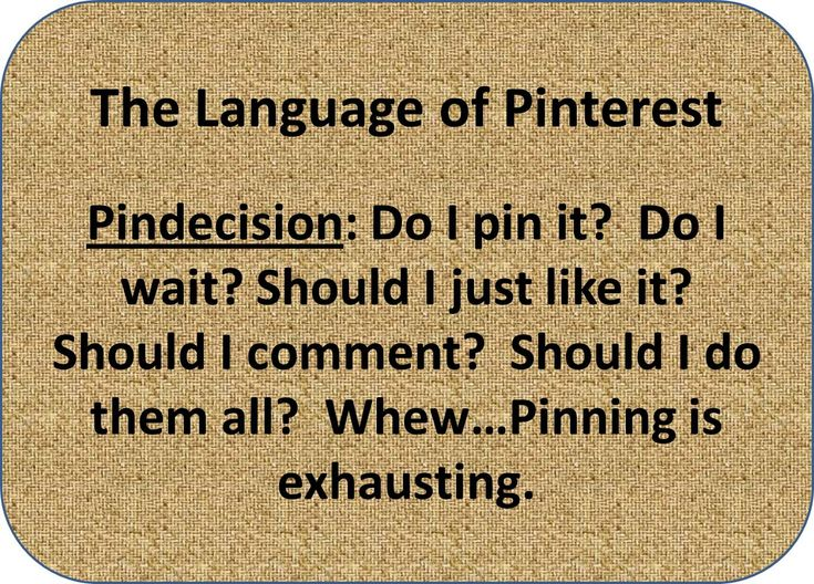 Pindecision