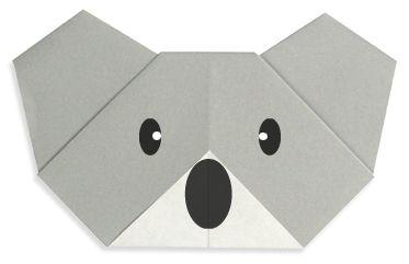 Origami Koala(face)