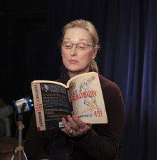 """Classic"" Meryl Streep reading from Fahrenheit 451"