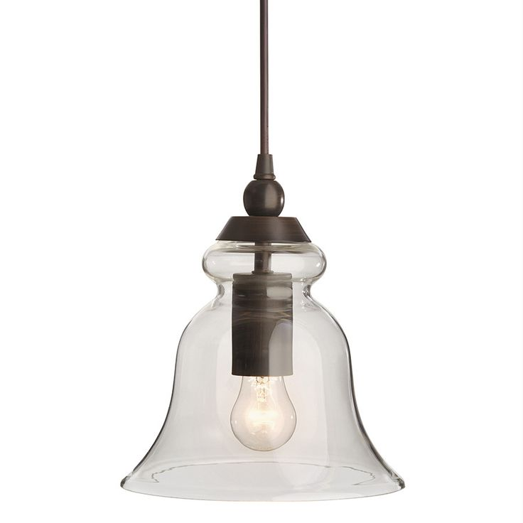 allen + roth  Pendant Light with Clear Glass Shade at Lowes.com is just $40 and is almost an identical match to the Pottery Barn Rustic Glass Pendant Light (small size)  that retails for $99.