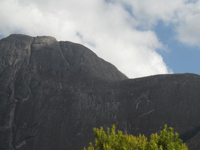 Easy Street is the name of a particular rock climb on this shoulder of the Chambe peak, Mulanje Mountain