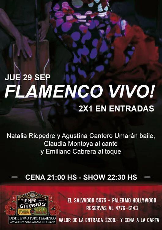 Noche de 2X1 en entadas al show!!! Te esperamos en El Salvador 5575 (Palermo)  Solo con reserva previa llamando al 4776-6143