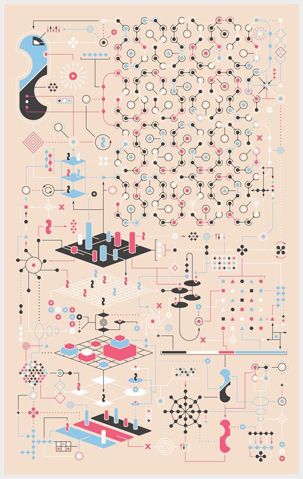 Nonsense Infographics by Jonathan Petersen, via Behance