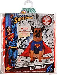 How to Make A Great Superman Dog Costume