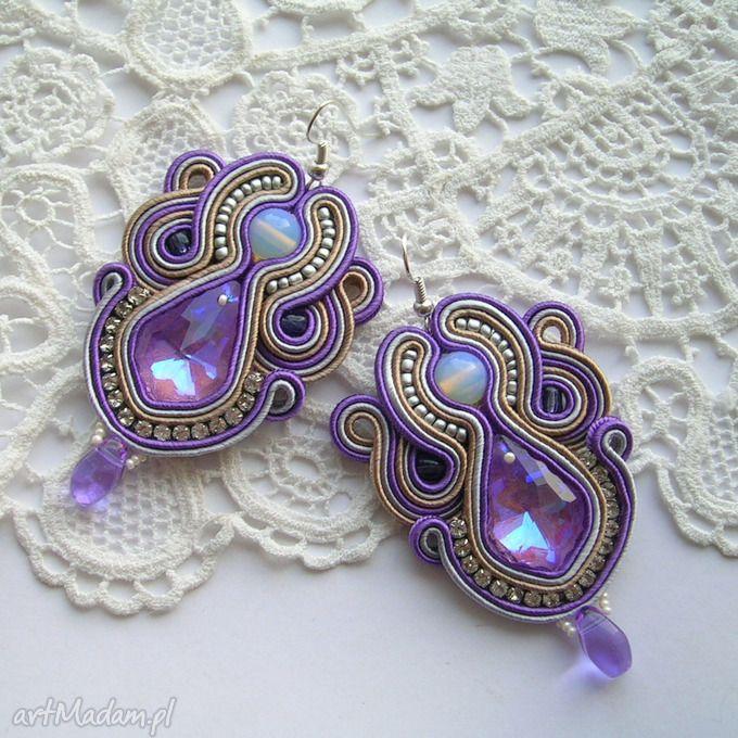 • pendientes únicos, joyas - pendientes trenza vivien - Samantha