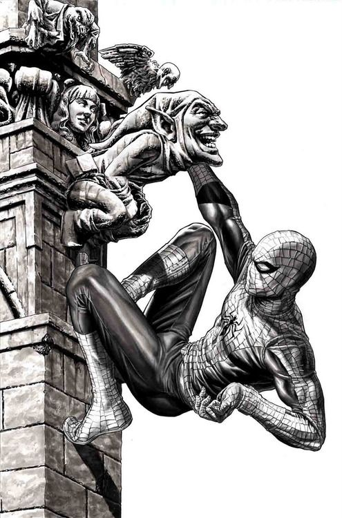 Spider-man by Lee Bermejo                                                                                                                                                                                 Mais
