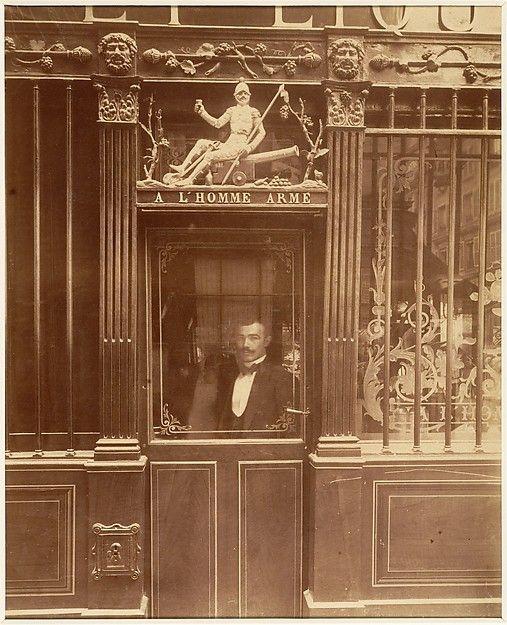 Eugène Atget (French, 1857–1927). À L'Homme Armé, 25 rue des Blancs-Manteaux…