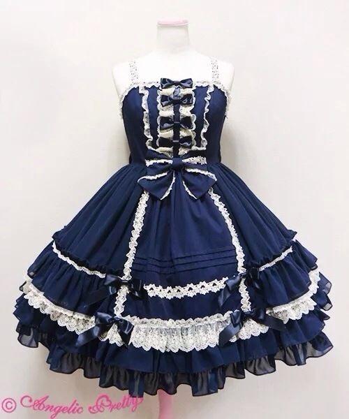【一夜物语の】LOLITA洛丽塔洋装 海军服学院风日常cos公主裙