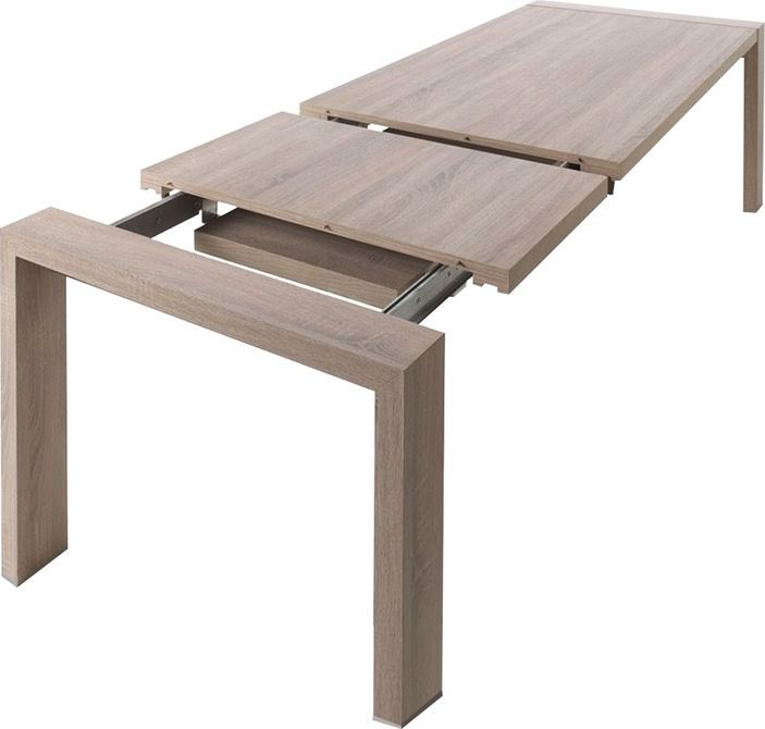 25 b sta solde table de jardin id erna p pinterest for Table salle a manger ronde extensible