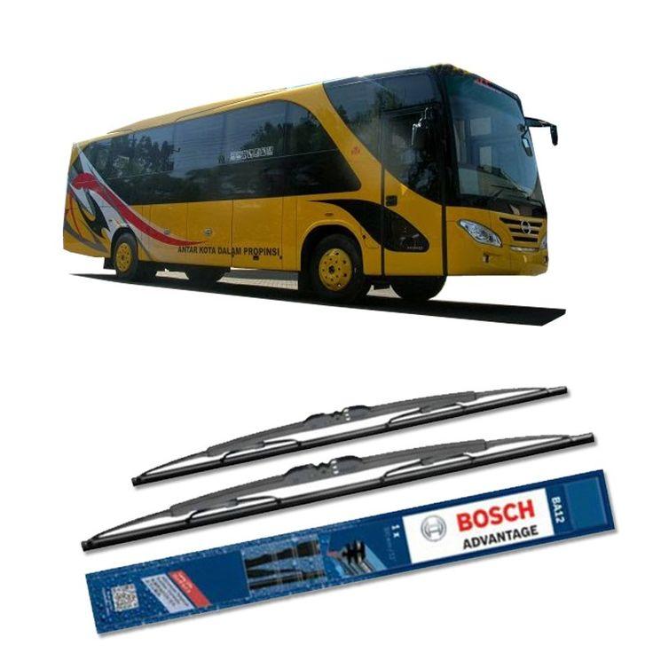 """Bosch Sepasang Wiper Kaca Mobil Bus/Bis Tipe Ventura Advantage 28"""" & 28"""" - 2 Buah/Set  Umur Pakai & Daya Tahan Lebih Lama Penyapuan kaca yang senyap Performa Sapuan Optimal Instalasi Mudah & Cepat Original Produk Bosch  http://klikonderdil.com/with-frame/1198-bosch-sepasang-wiper-kaca-mobil-mobil-busbis-tipe-ventura-advantage-28-28-2-buahset.html  #bosch #wiper #jualwiper #bisventura"""