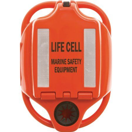 Life Cell LF3 The Yachtsman Emergency Flotation Device and Storage, 4 Person Use, Orange