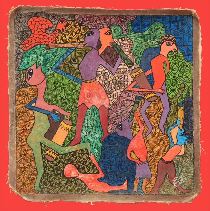 """""""a arte haitiana nunca deixou de se manter embrulhada no pensamento e nas atitudes supremas de jovens pintores, desenhistas, romancistas, músicos e poetas que conservaram viva sua releitura do mundo, sob a representação de suas próprias histórias. Reluzindo, em suas obras, às sensações de uma realidade constantemente no limiar de ser subjugada."""""""