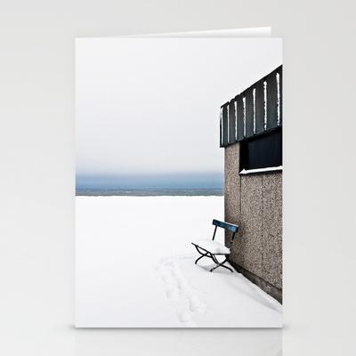 WINTER Stationery Cards by lilla värsting - $12.00