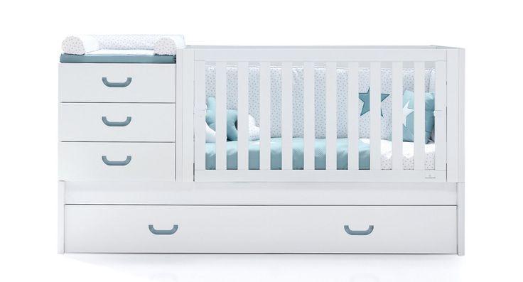Cunas convertibles Joy para bebés marca Alondra