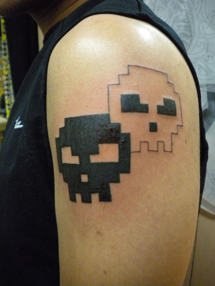 1000+ images about 8-bit tattoos on Pinterest