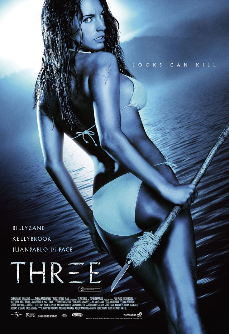 Three (2005)  Watch the Trailer!/ Billy Zane, Kelly Brook, Juan Pablo Di Pace Movie/