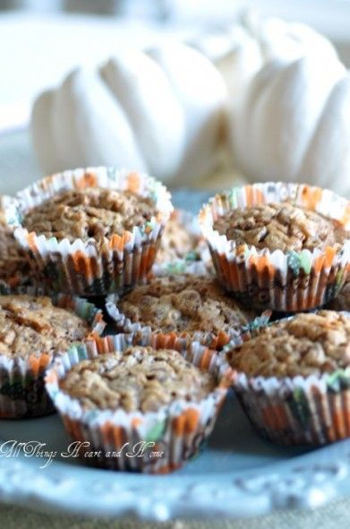 Paula Deen Pecan Pie Muffins  This is a recipe I've been making for years and it never disappoints.