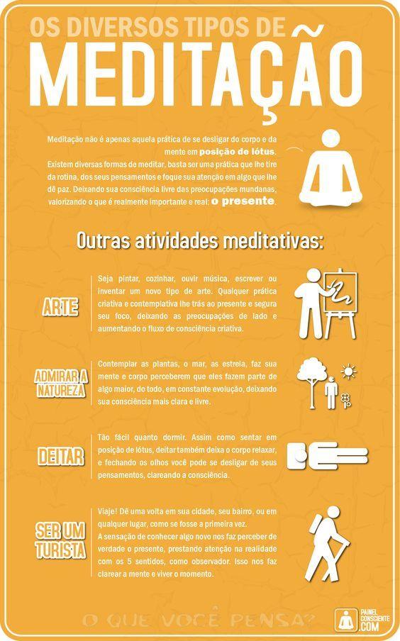 Espiritualidade E Mensagens: Os diversos tipos de meditação