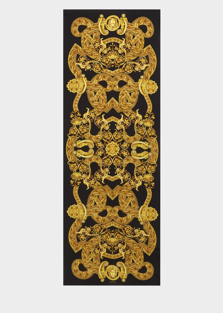Versace Barocco Istante Print Silk Stole for Women | UK Online Store. Barocco Istante Print Silk Stole from Versace Women's Collection. This lightweight, crepe de chine stole in Barocco Istante print, is an exceptional aesthetic.