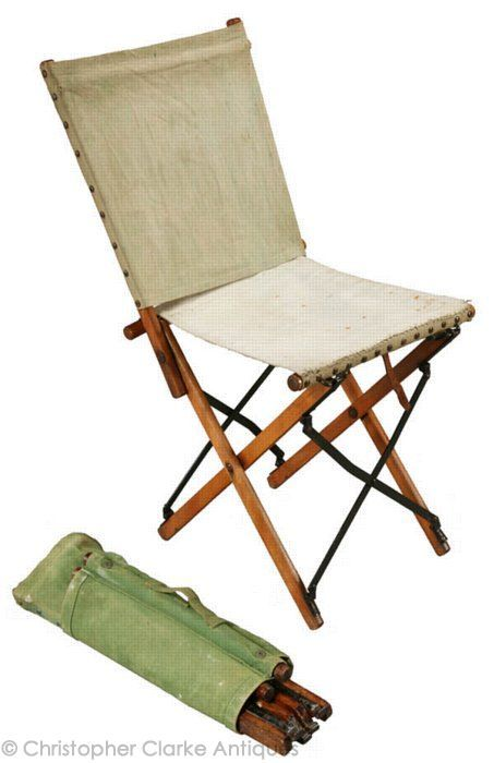 The Military X Chair - ca 1910