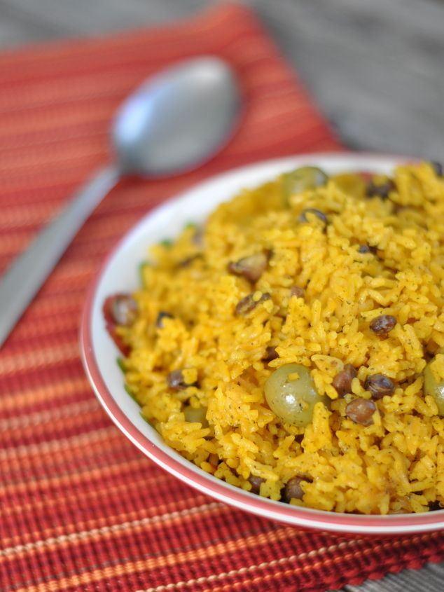 Arroz con gondules. Best rice in the world.