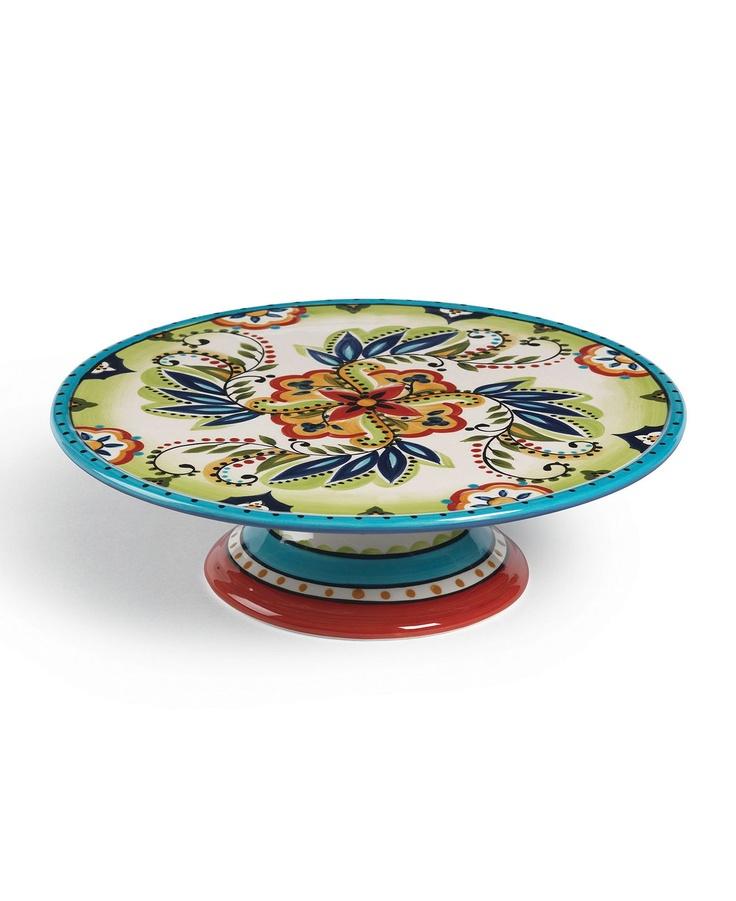 Espana Dinnerware, Bocca Cake Stand - Serveware - Dining & Entertaining - Macys