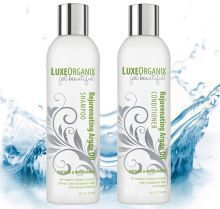 LuxeOrganix Argan Oil Shampoo and Conditioner #haircareafterkeratintreatment,