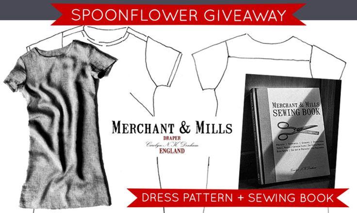 Win A Merchant & Mills Book + Pattern! - http://www.diydecorprojects.com/win-a-merchant-mills-book-pattern.html
