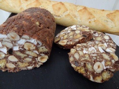 Saucisson au chocolat de Christophe Michalak