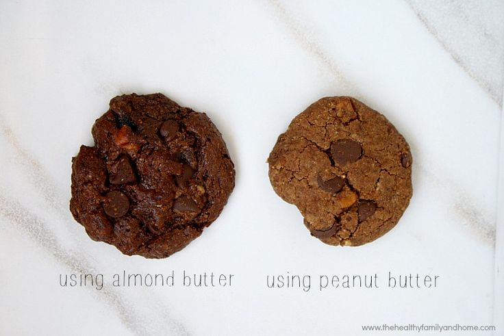 Flourless Chocolate Chip Pecan Cookies (Vegan, Gluten-Free, Dairy-Fre ...