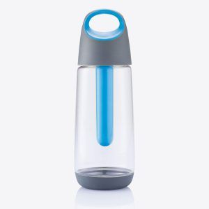 PromoBrand-Promotional Bopp Cool bottle. The Bopp Cool is a design award winning drinking bottle with a capacity of 700ml in eco-friendly Tritan™ material. A sustainable bottle with an ingenious integrated cooler element to cool your drinks from inside the bottle. Registered design®
