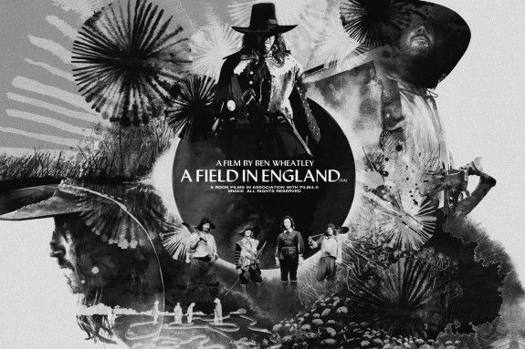 Day 73/365: A Field In England-soundtrack poster