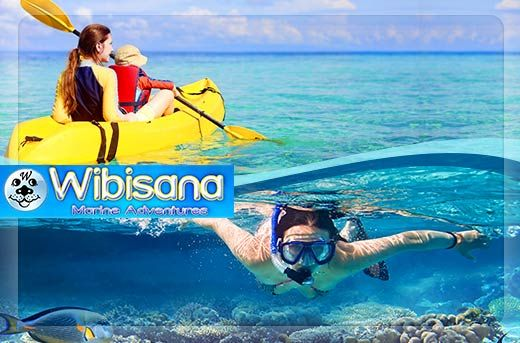 Ultimate Ocean Adventure: Snorkeling & Kayaking in Tanjung Benoa, Bali starting at Rp99.000 instead of Rp300.000 - Exclusively and only at www.MetroDeal.co.id